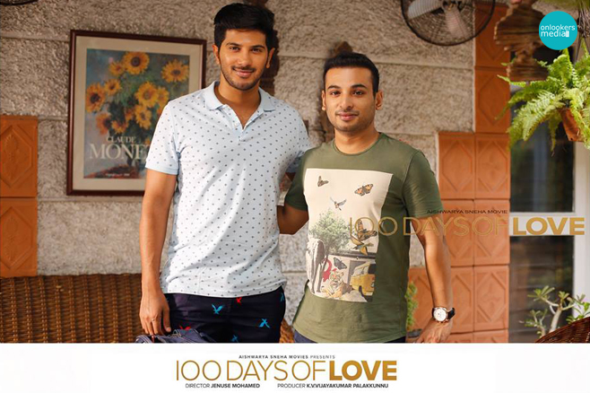 100 Days of love Malayalam Movie-Dulquer Salmaan-Nithya Menon-Onlookers Media