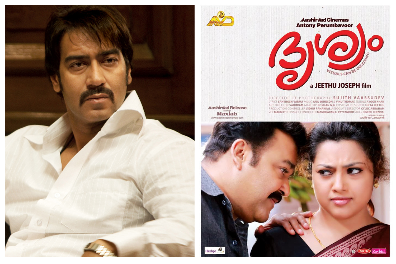 Ajay Devgan in Hindi remake of Drishyam-Malayalam Movie-Onlookers Media