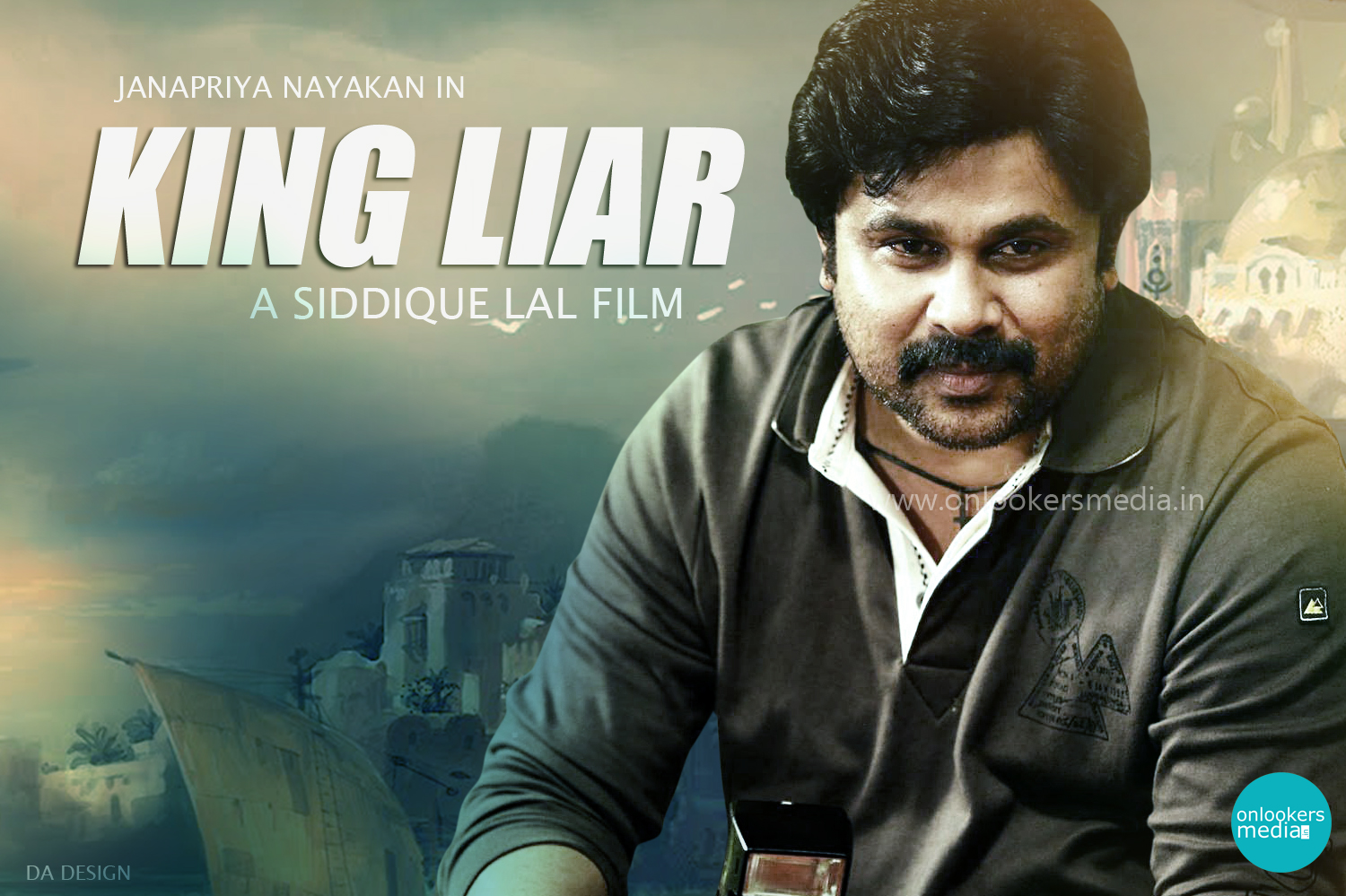 Dileep in King Liar Malayalam Movie-Siddique Lal-Onlookers Media