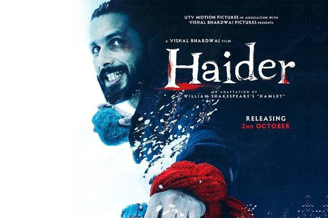 Haider Movie Review-Shahid Kapoor-Sradha Kapoor-Tabu-Onlookers Media
