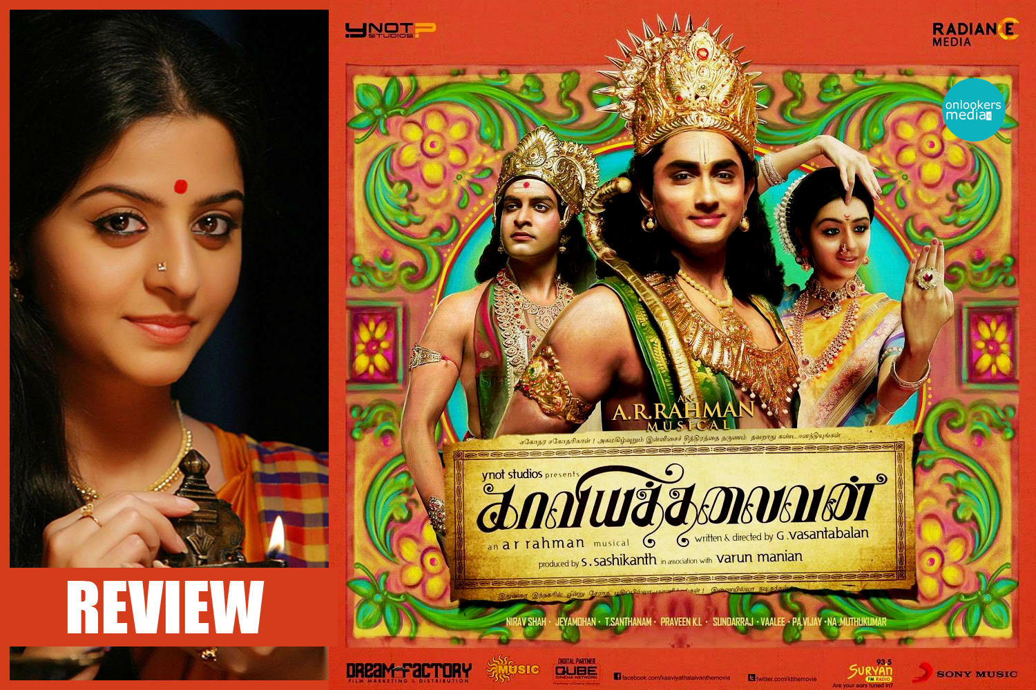 Kaaviya Thalaivan Review-Rating-Collection-Report-Prithviraj-Vedhika-Siddharth-Onlookers Media