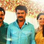 Anoop Menon Shema Alexander Wedding Stills-Reception-Photos-Images-Onlookers Media