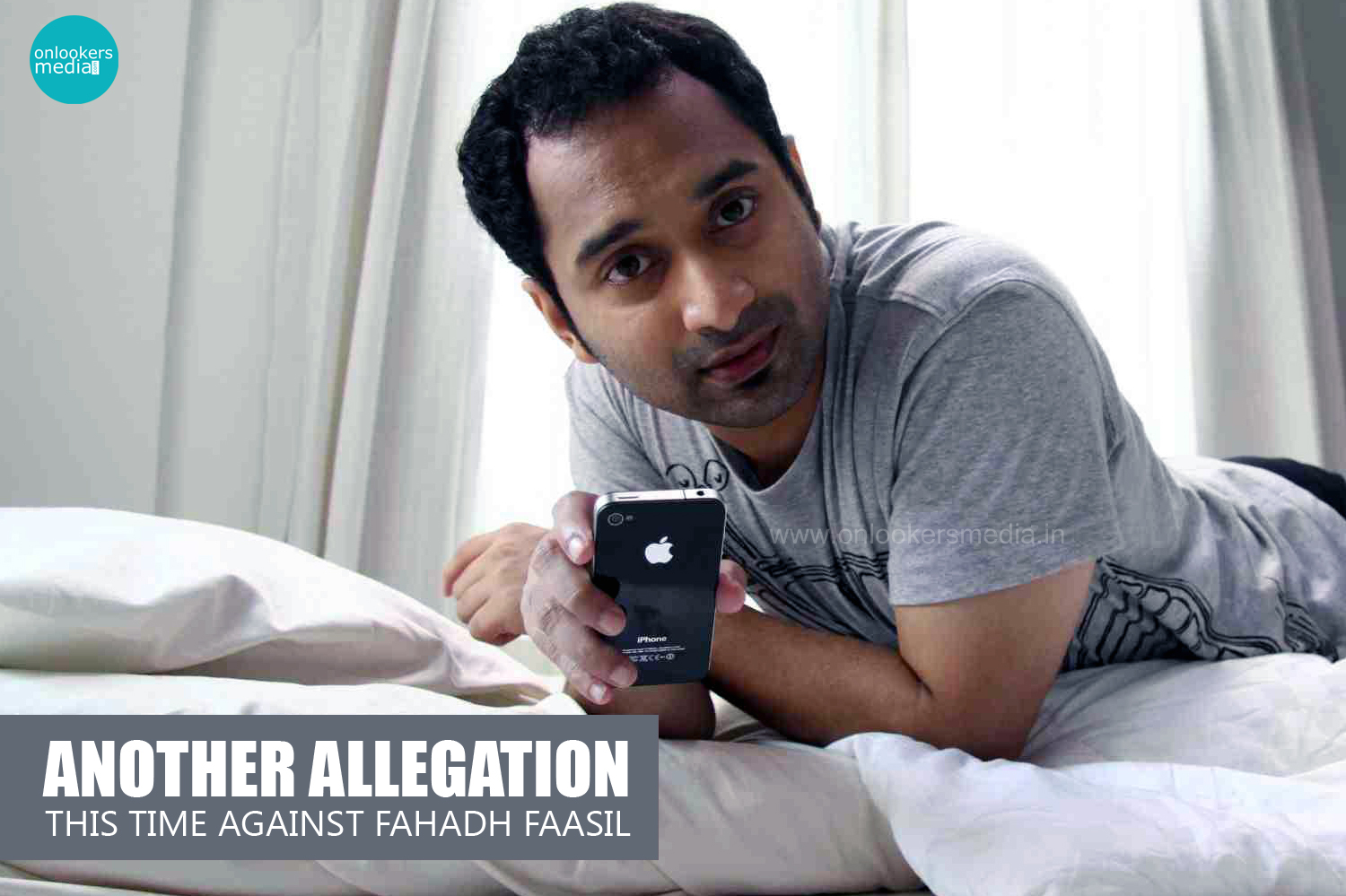Another allegation, This time Against Fahadh Faasil-Iyer In Pakistan Issue-Onlookers Media