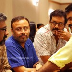 Director Ranjith, Lal Jose and Suresh Krishna at Anoop Menon Shema Alexander Wedding Reception-stills-Photos-Images-Onlookers Media (2)