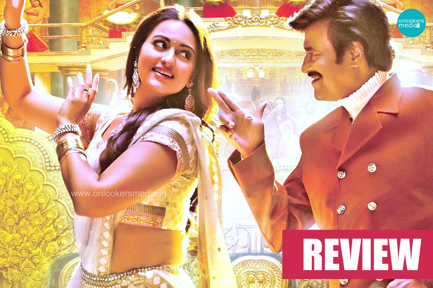 Lingaa Review-Rating-Colletion-Report-Rajinikanth-Anushka Shetty-Sonakshi Sinha-Onlookers Media