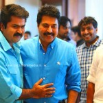 Mammootty at Anoop Menon Shema Alexander Wedding Reception-stills-Photos-Images-Onlookers Media