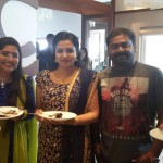 Saji Surendran, Kavya Madhavan and Sheelu Abraham at Anoop Menon's Wedding Reception-Onlookers Media