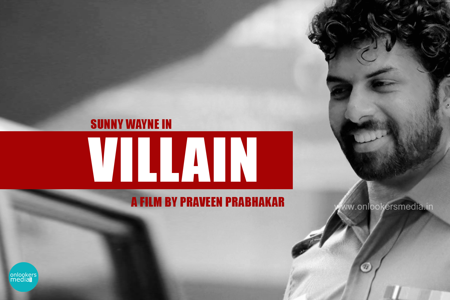 Sunny Wayne in Villain Malayalam Movie-Stills-Images-Photos-Onlookers Media
