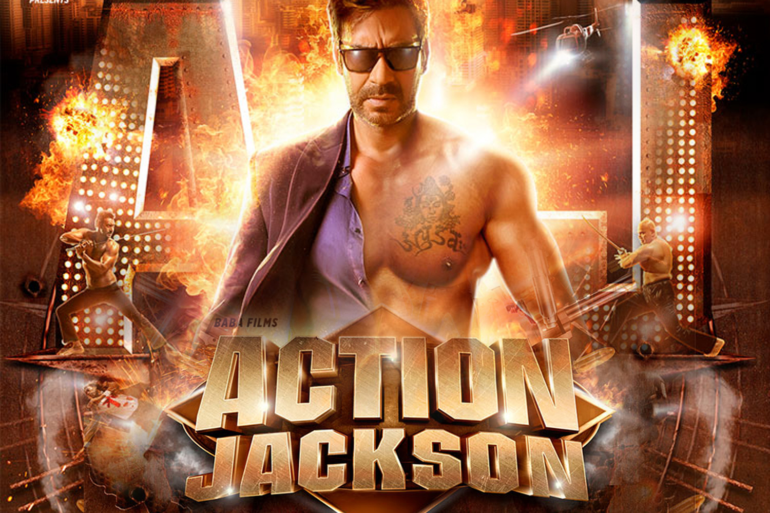 Action Jackson Review-Rating-Collection-Theater Report-Ajay Devgan-Sonakshi-Prabhu Deva