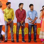 Vikramadithyan 100 Days Celebration Function-Stills-Photos-Images-Mammootty-Dulquer Salmaan-Nivin Pauly-Namitha Pramod-Onlookers Media