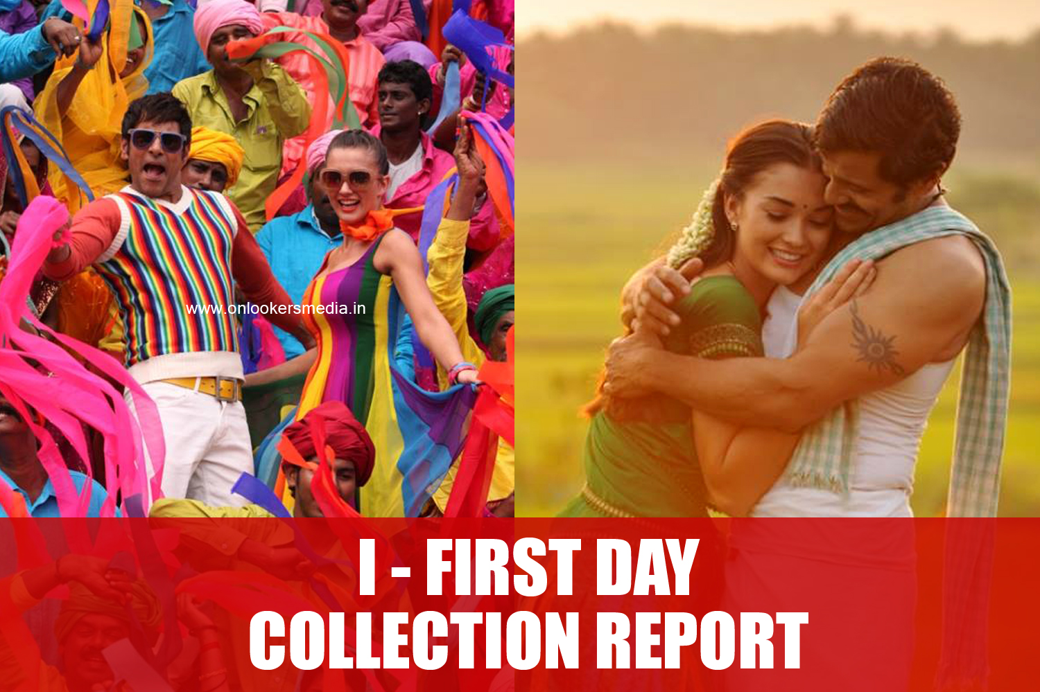 I movie first day collection report-Vikram-Shankar-Amy Jackson-Suresh Gopi, Ai Movie-Onlookers Media