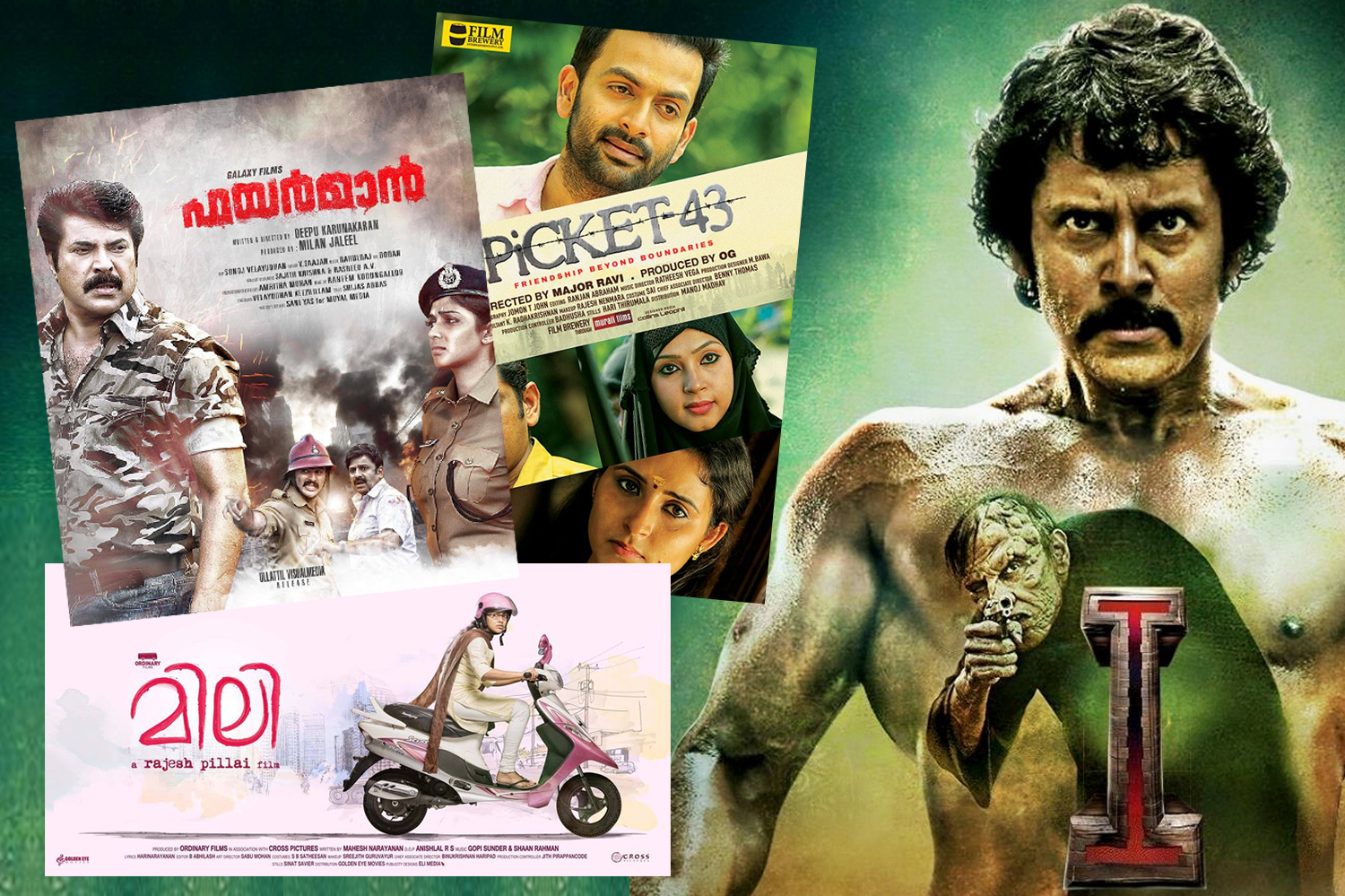 Mollywood still have to wait for Fireman and Mili-I-Vikram-Mammootty-Prithviraj-Dileep-Fireman-Picket 43-Mili-Onlookers Media
