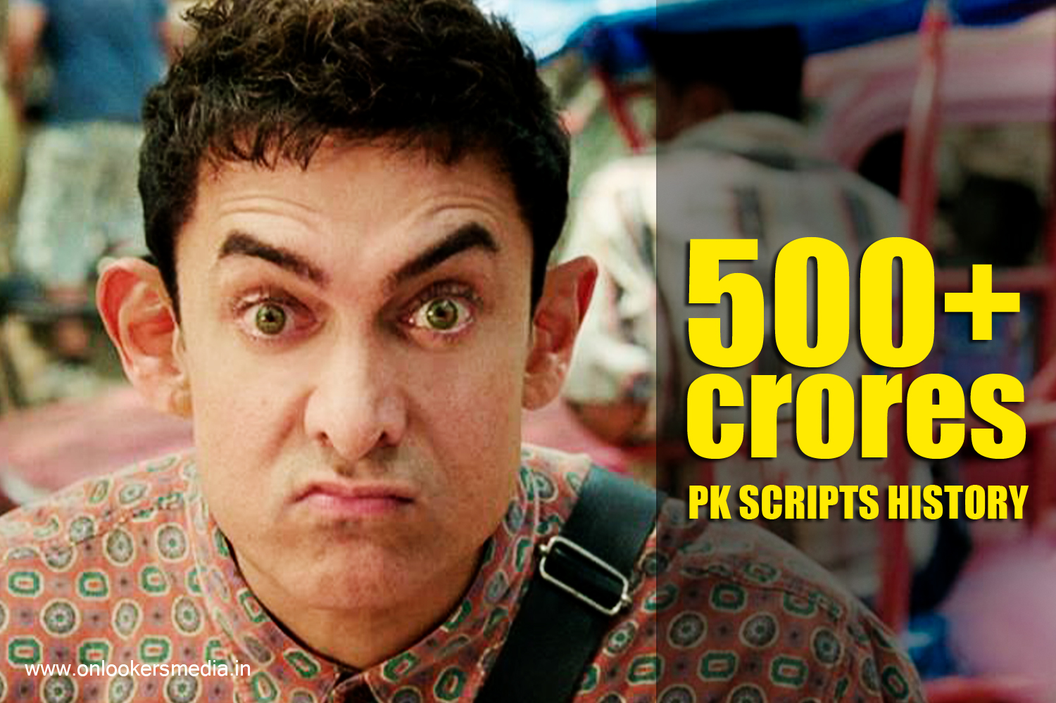 PK box office collection report-Aamir Khan-Anushka Sharma-Rajkumar Hirani-Onlookers Media