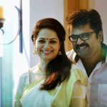 Anoop Menon with Shema Alexander-Malayalam Stars with family-Onlookers Media