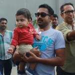 Asif Ali with family at You Too Brutus Loaction-Onlookers Media