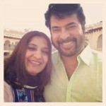 Mammootty with Sulfath Mammootty