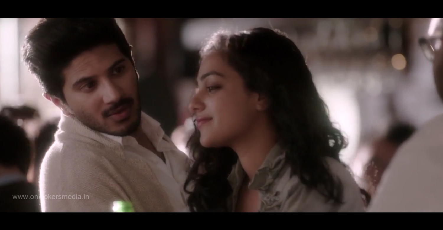 100 Days Of Love Official Trailer-MP3-Video-Song-Dulquer Salmaan-Nithya Menon-Onlookers Media