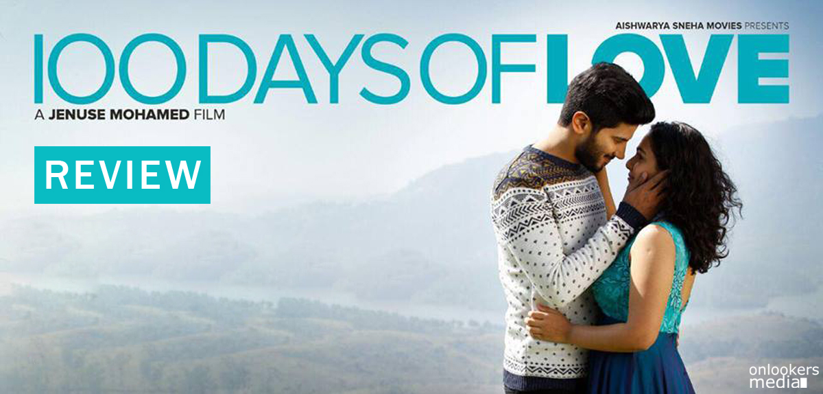 100 Days Of Love Review-Rating-Report-Collection-Dulquer Salmaan-Nithya Menen-Malayalam Movie 2015-Onlookers Media