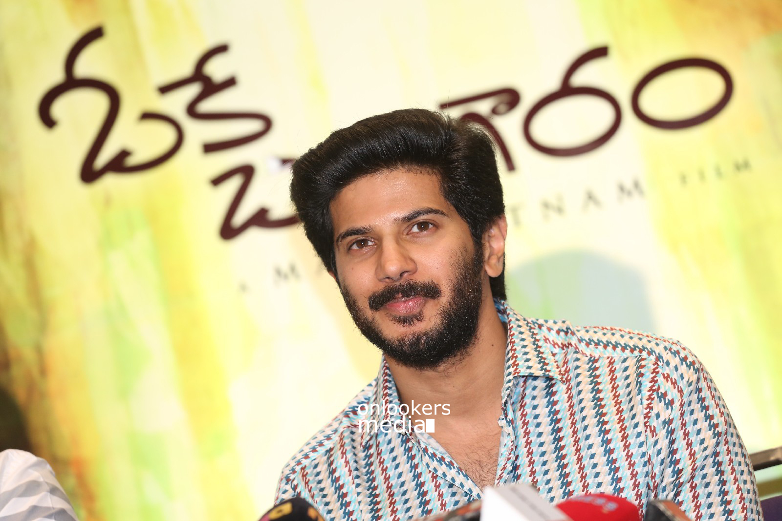 Dulquer Salmaan at OK Bangaram Promotional Event-OK Kanmani Stills-Onlookers Media