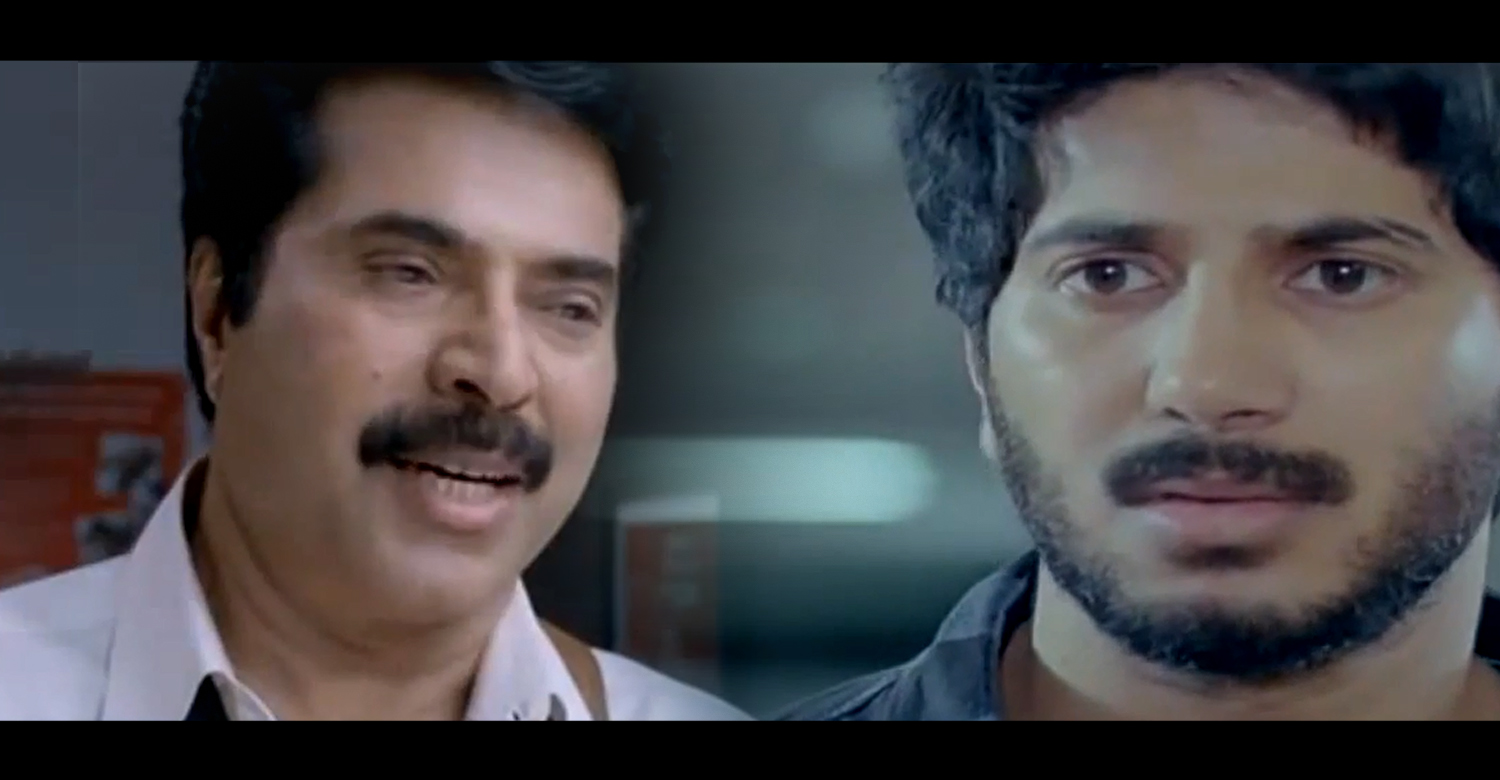 Mammootty and Dulquer in Vaaranam Aayiram-Trailer Remix-Onlookers Media