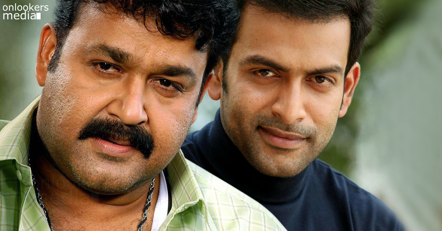 Mohanlal and Prithviraj to share screen for the first time-Malayalam Movie 2015-Onlookers Media