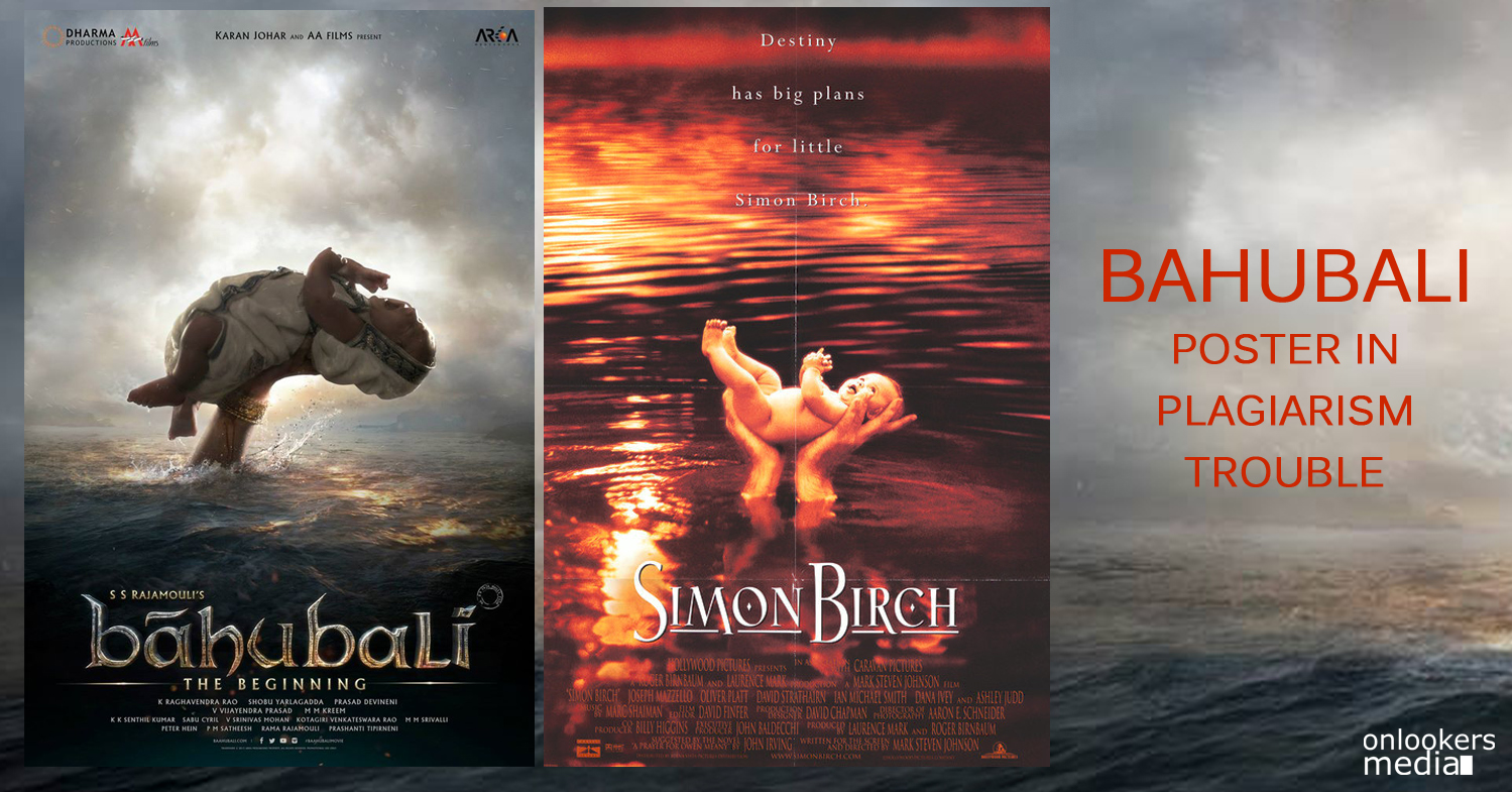 Bahubali poster copied from english movie Simon Birch-S S Rajamouli-Onlooekrs Media
