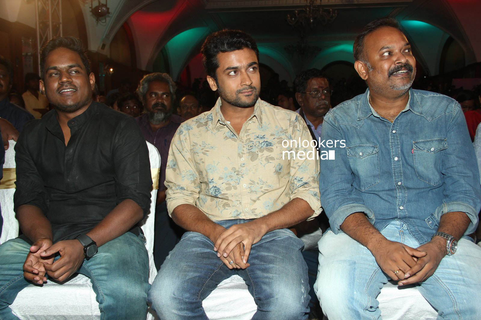 Masss Press Meet Stills-Images-Suriya-Venkat Prabhu-Nayanthara-Yuvan Shankar Raja-Onlookers Media