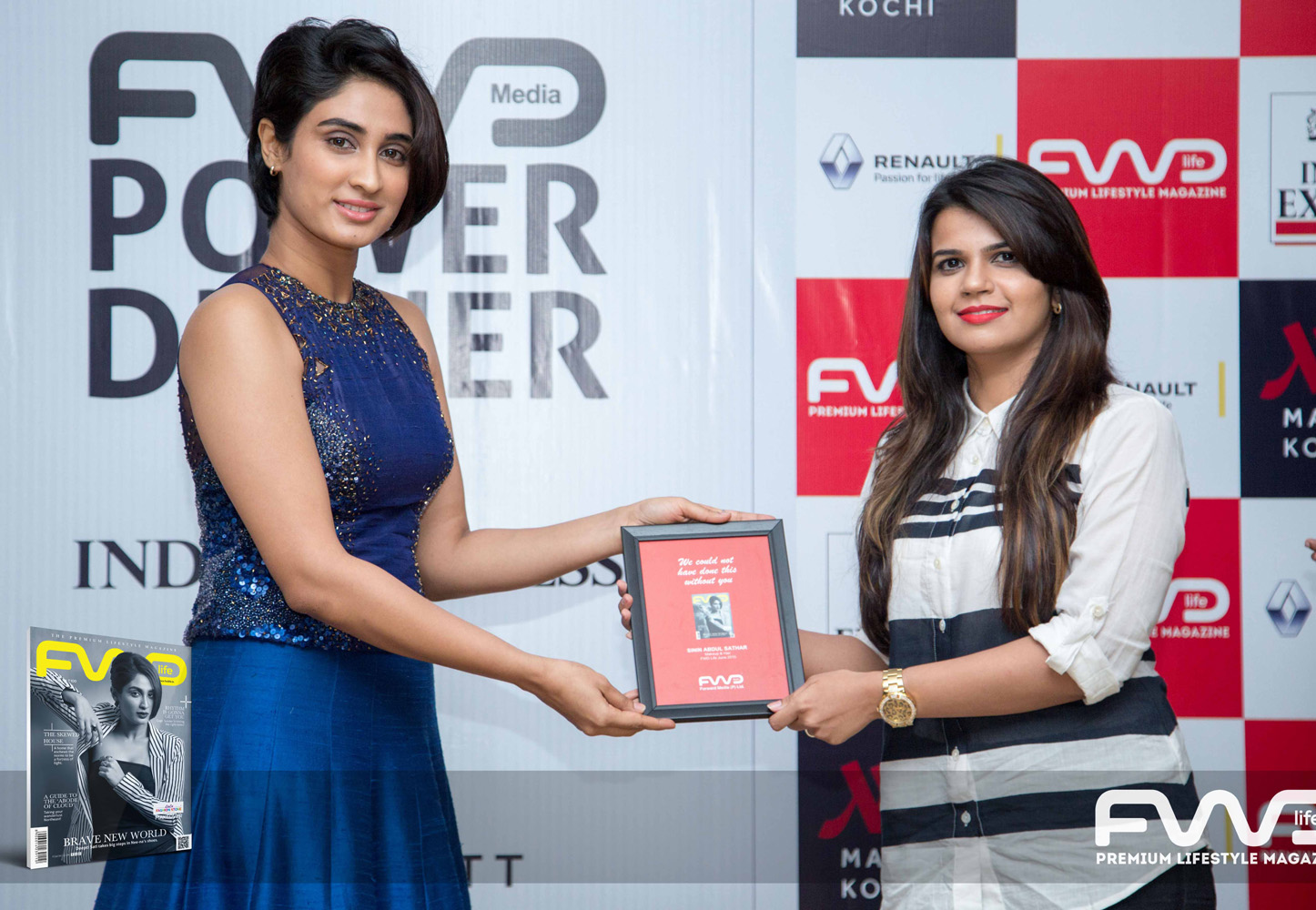 Deepti Sati Gopi Sunder at FWD Cover Launch Function