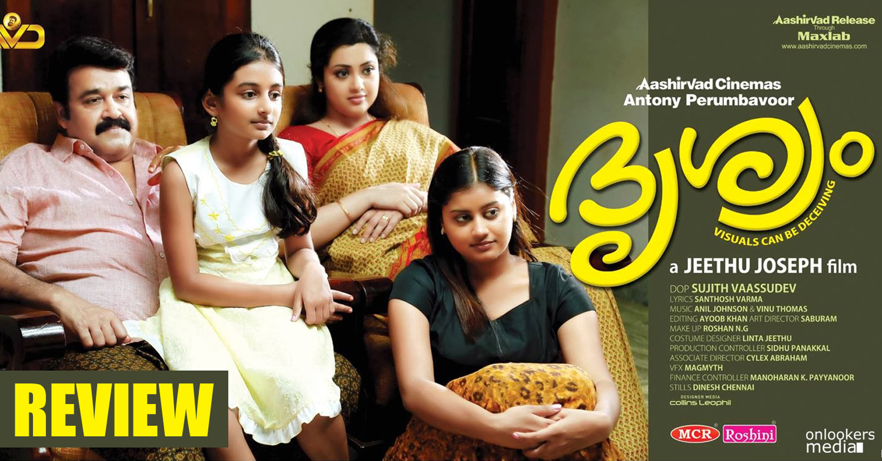 Drishyam Review-Report-Collection-Mohanlal-Jeethu Joseph-Malayalam Movie 2013-Onlookers Media