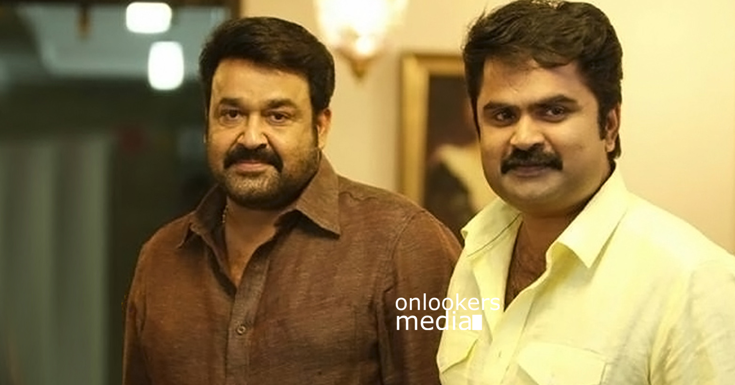 Mohanlal with Anoop Menon-Kanal Malayalam Movie 2015-Onlookers Media