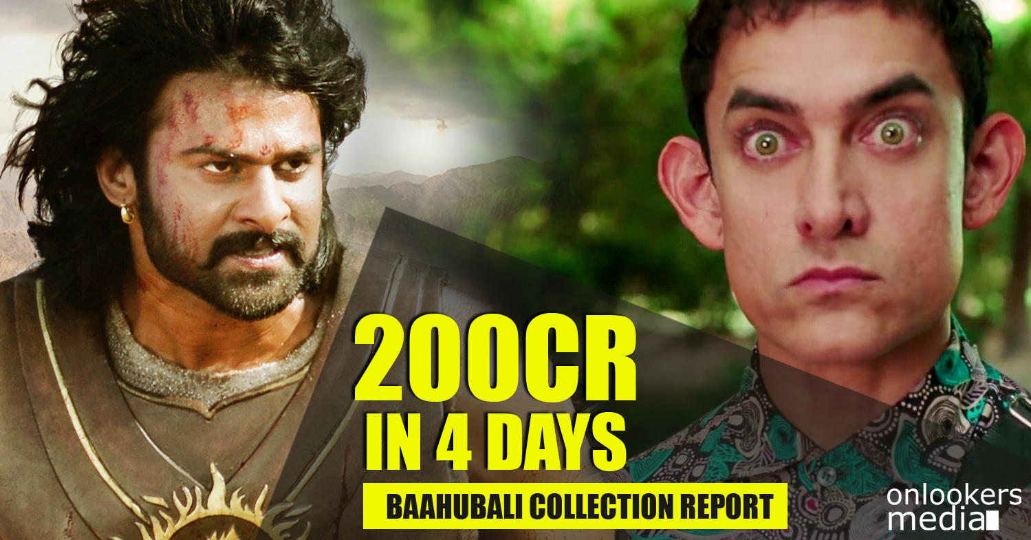 Baahubali in 200 crore club within 4 days-Prabhas-SS Rajamouli