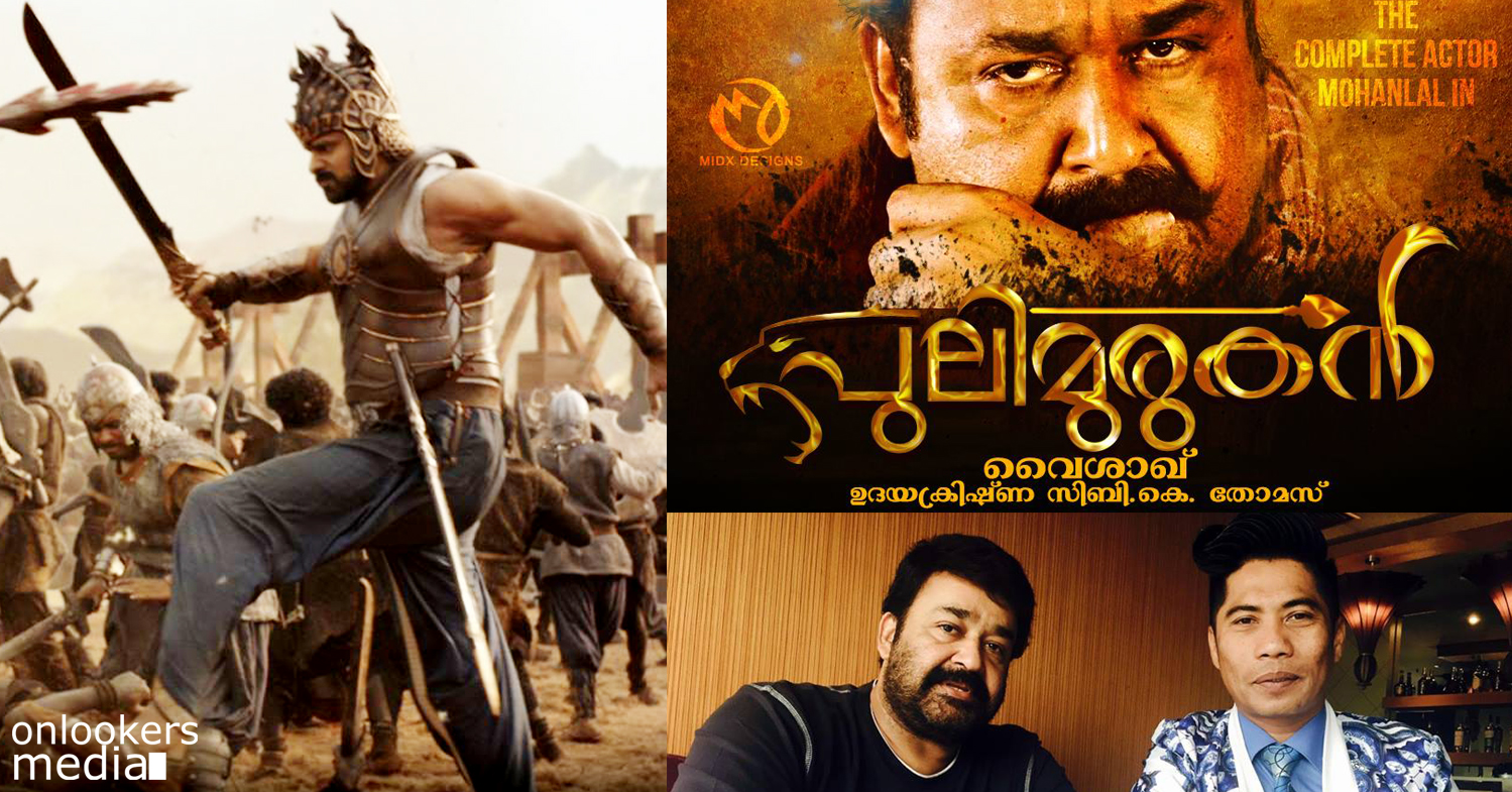 Baahubali to Puli Murugan, Peter Hein to direct Mohanlal after Prabhas