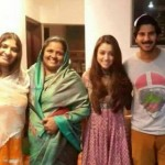 Dulquer Salmaan Family-Unseen Stills-Rare-Childhood Photo-Wife Amal Sufia
