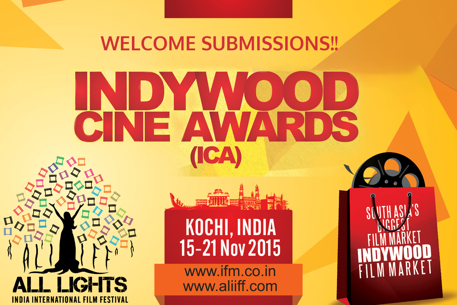 Exclusive Indywood Cine Awards to be given away at ALIIFF