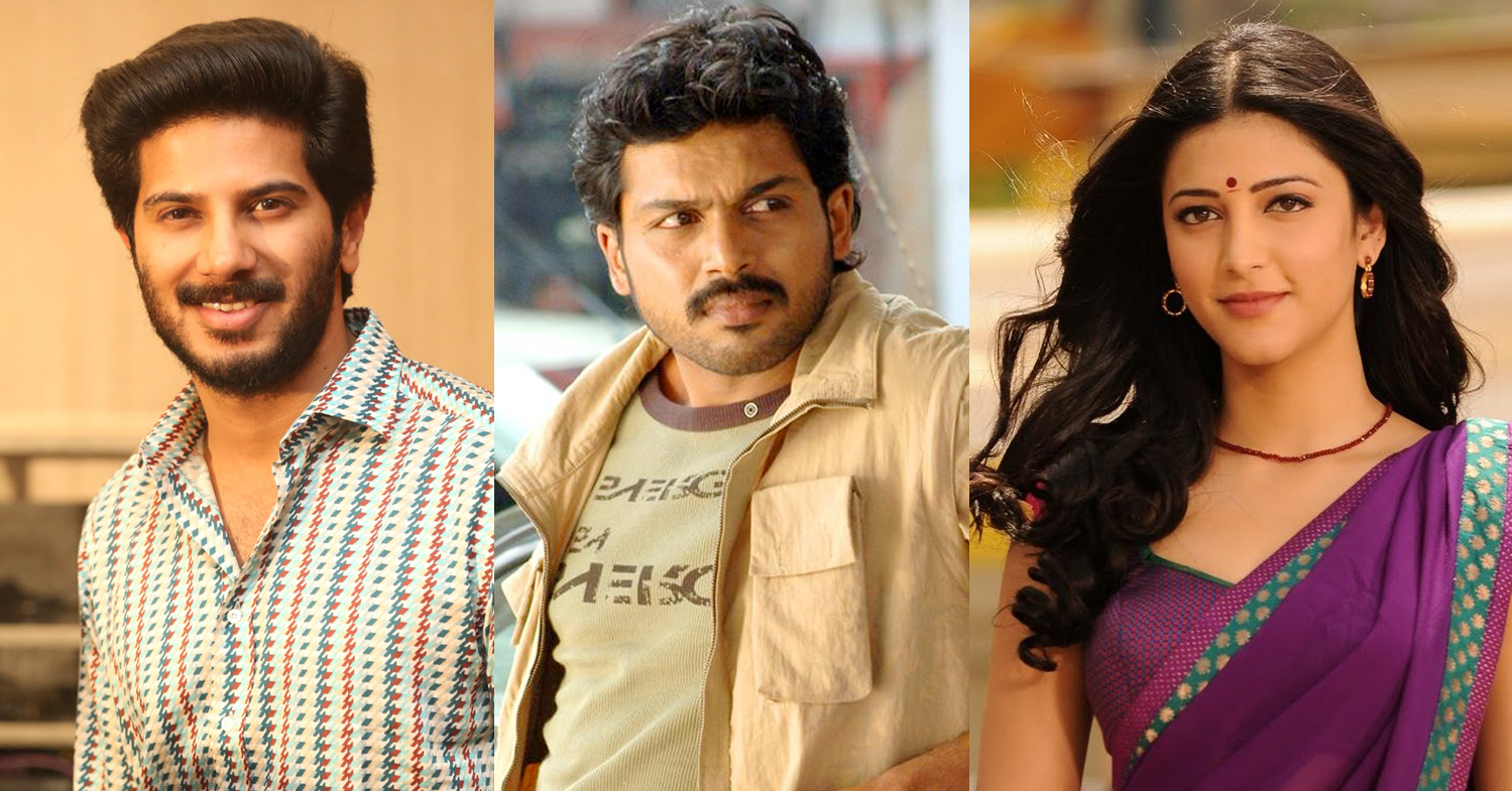 Karthi, Sruthi Hasan and Dulquer in next Mani Ratnam film