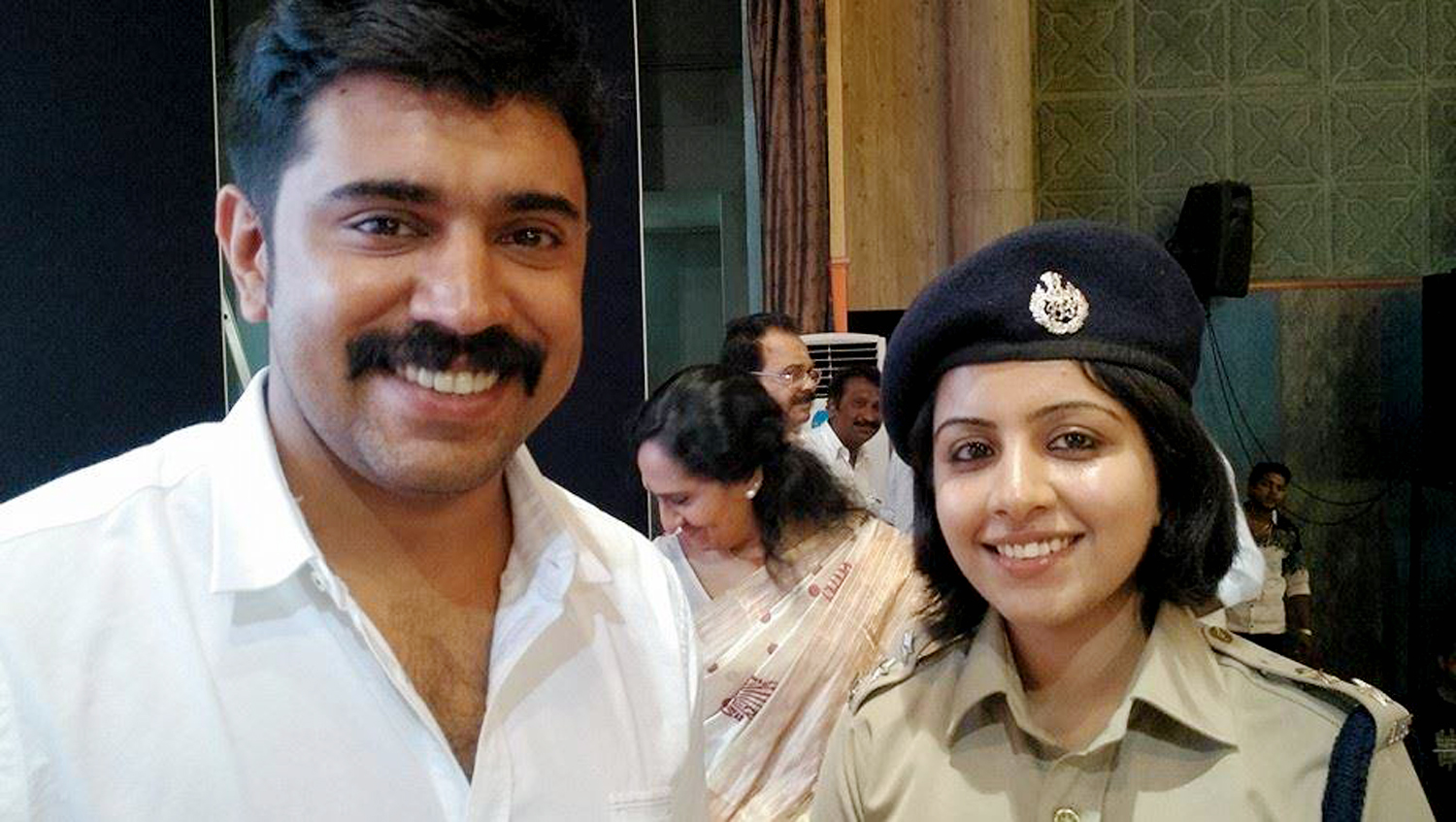 Picture with Nivin Pauly landed Merin Joseph in trouble