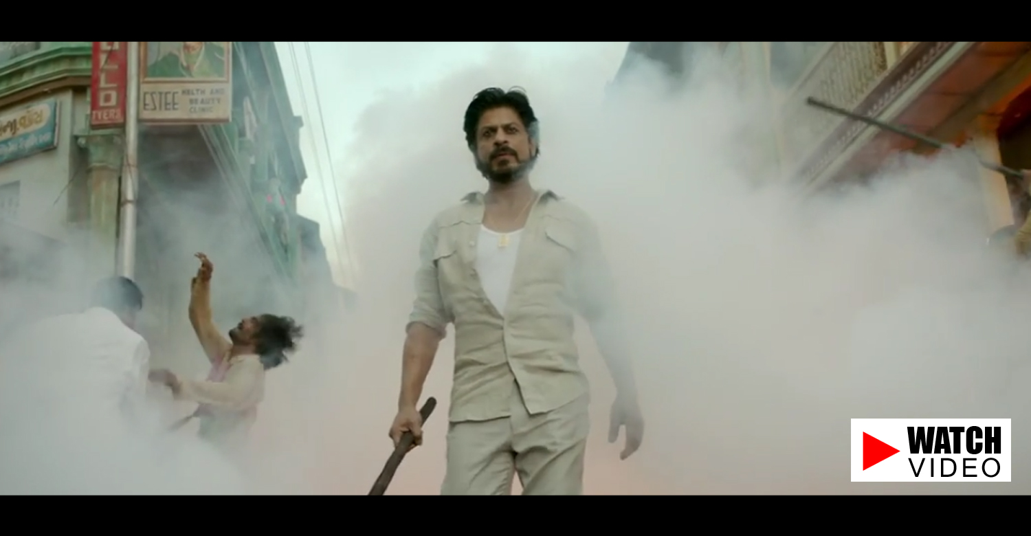 Raees Official Teaser-Trailer-Shah Rukh Khan