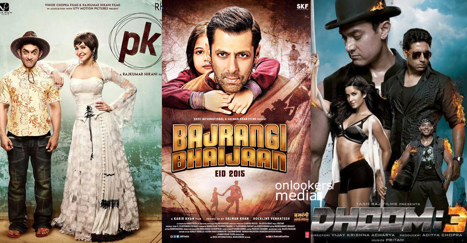 Bajrangi Bhaijaan crosses Dhoom 3 collection recored-Highest grossing indian movie