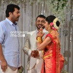 Mammootty at Muktha Wedding Reception-Stills-Photos