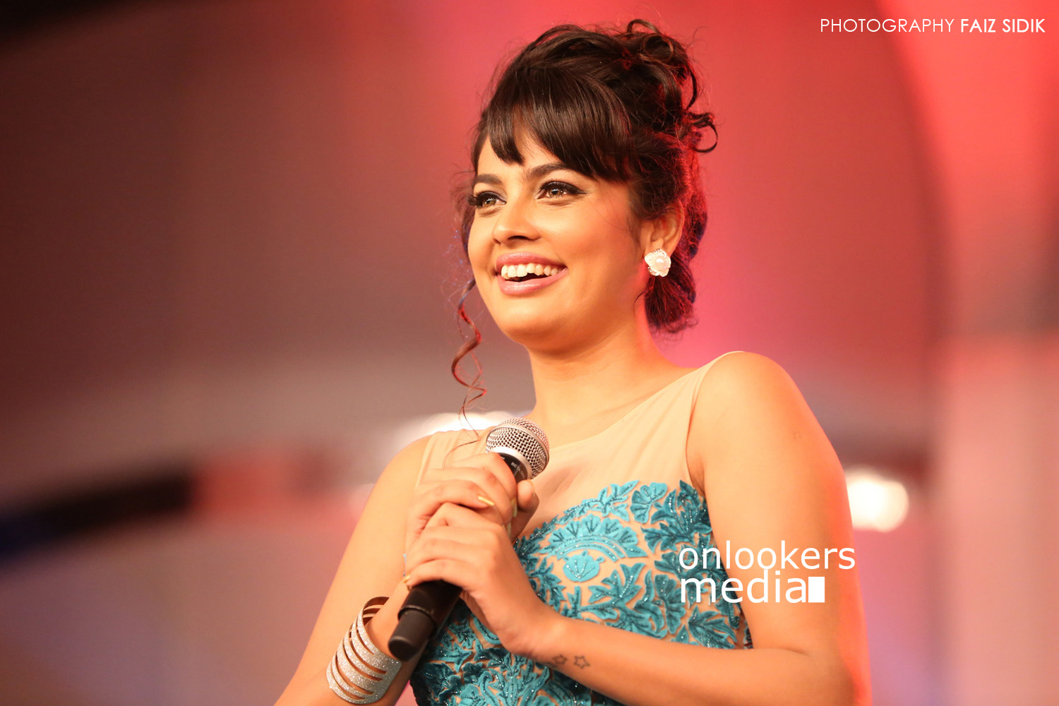 Nandita Swetha at Puli audio launch function-stills-photos
