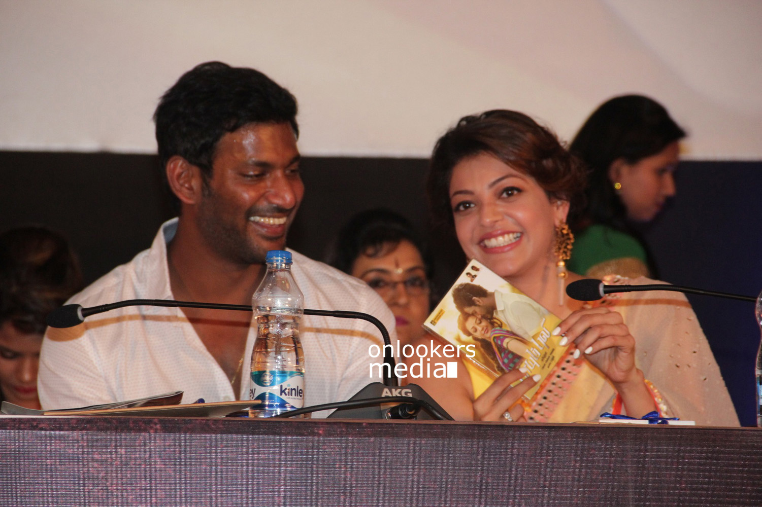 Paayum Puli Audio Launch Stills-Photos-Vishal-Kajal Aggarwal