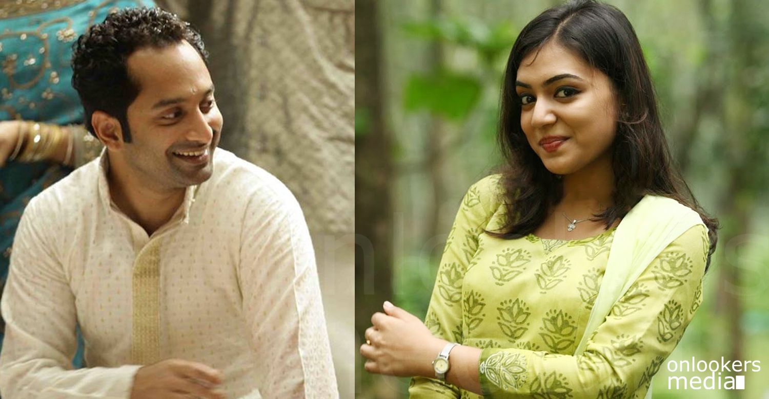Really an unexpected one and dedicates this to Fahad, says Nazriya