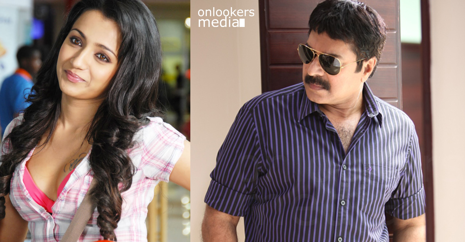 Trisha in Mollywood with Mammootty starrer White