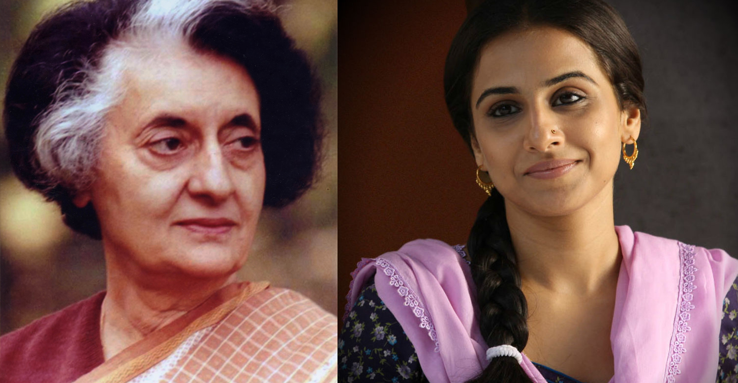Vidya Balan to play the role of Indira Gandhi