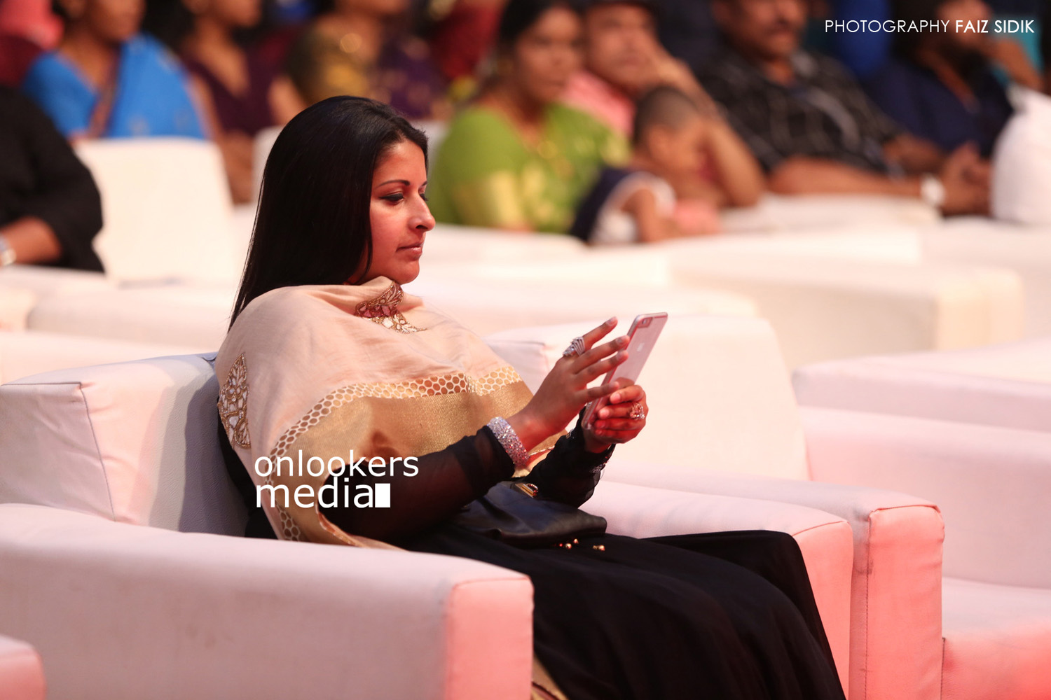 Vijay's wife Sangeetha at Puli audio launch-Stills-Photos
