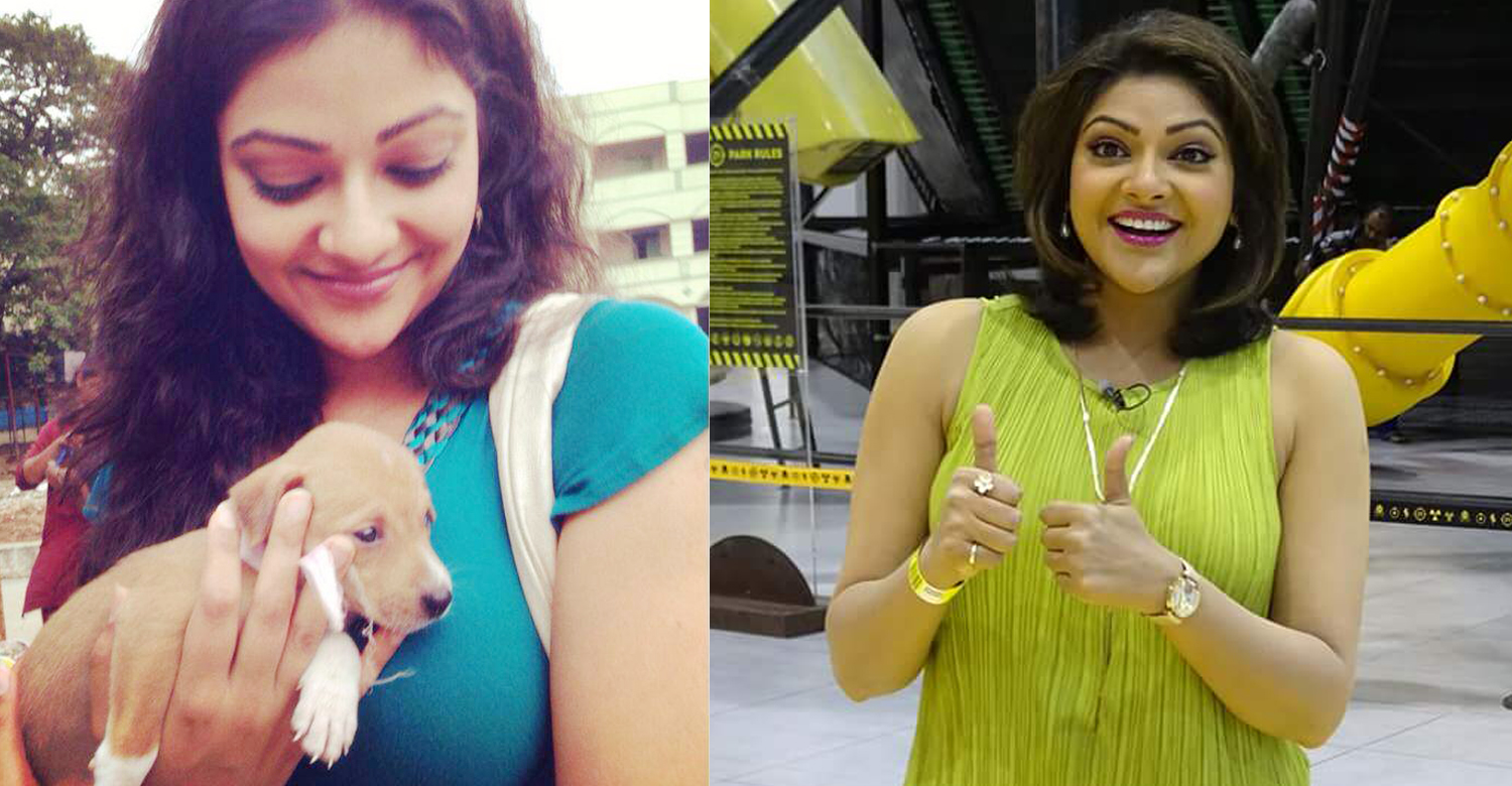 Actress Abhirami Latest Photo-Made For Each Others