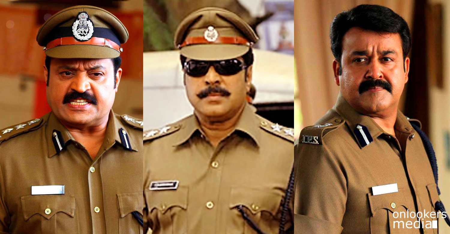 Best police role in Malayalam movies