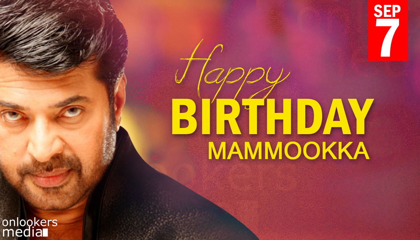 Happy Birth Day Mammootty