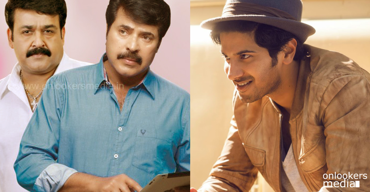 Mammootty and Mohanlal are born for cinema says Dulquer Salmaan