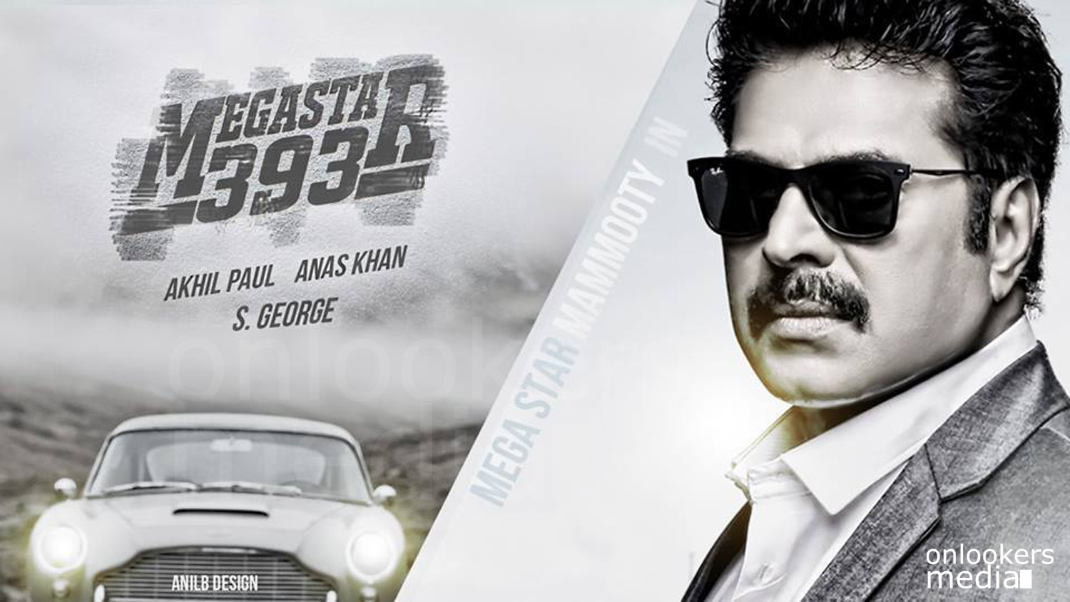 Mammootty in Megastar 393-Malayalam movie 2015